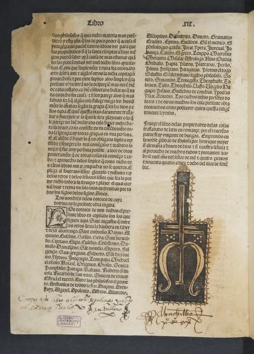 Ownership inscriptions in Bartholomaeus Anglicus: De proprietatibus rerum [Spanish]