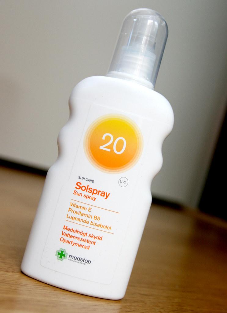 medstop solspray spf20