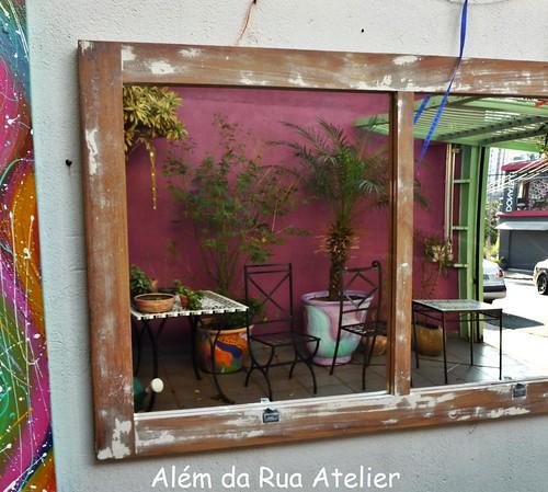 Como fazer espelho de janela de demolição