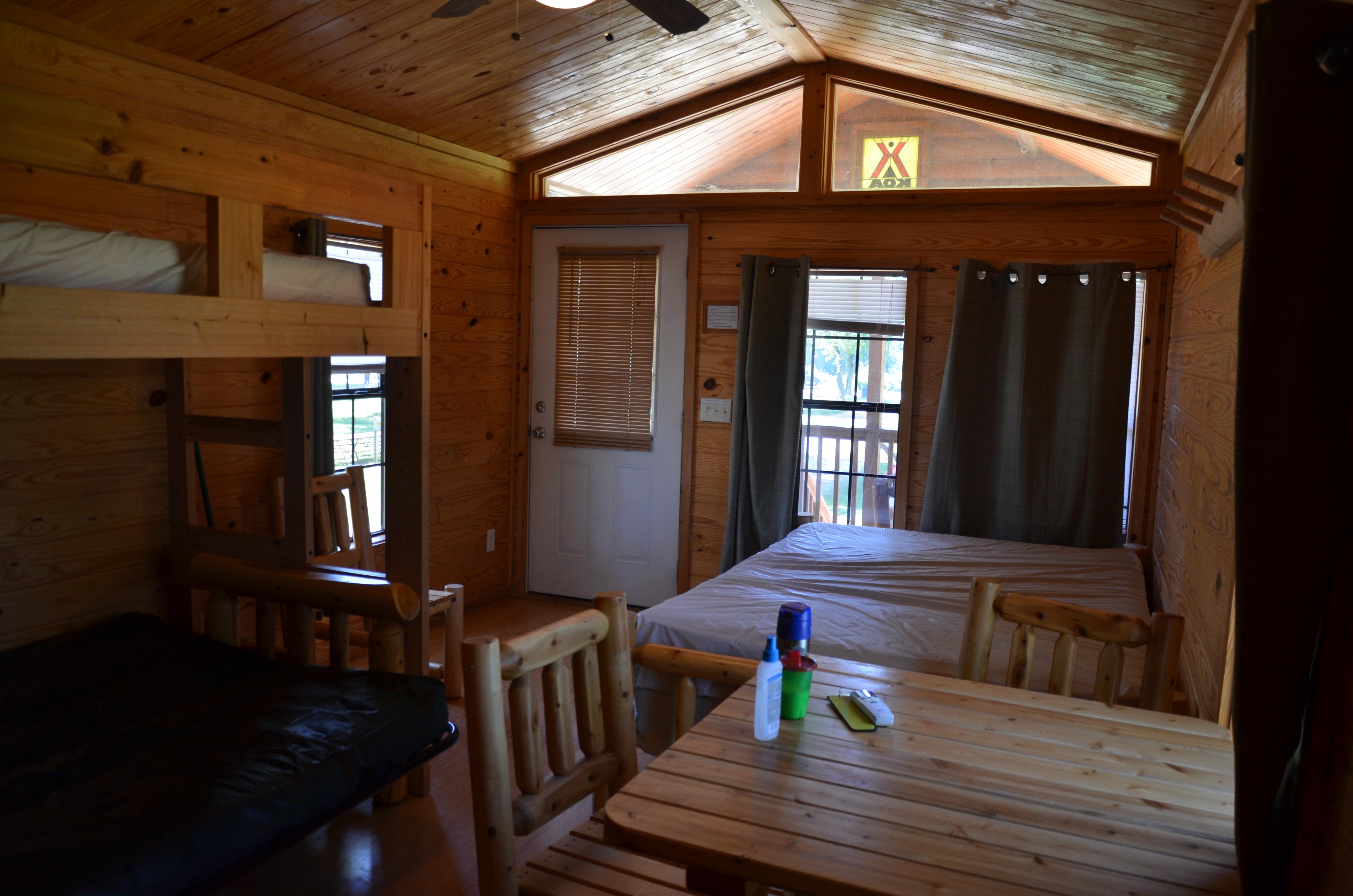 Starved Rock Koa Camping Cabin Flickr Photo Sharing