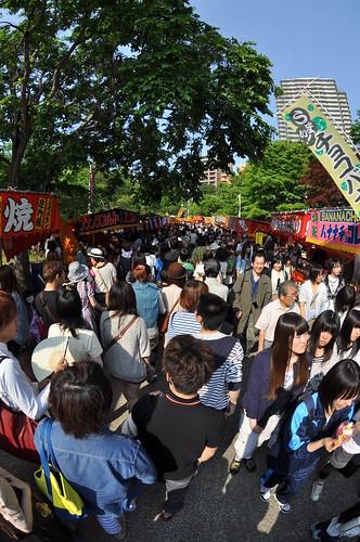 中島公園の祭り