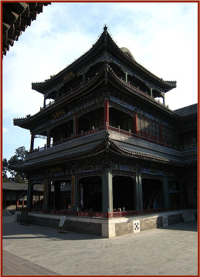 A Peking Opera House in the Summer Palace