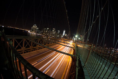 on the Brooklyn Bridge |explore|