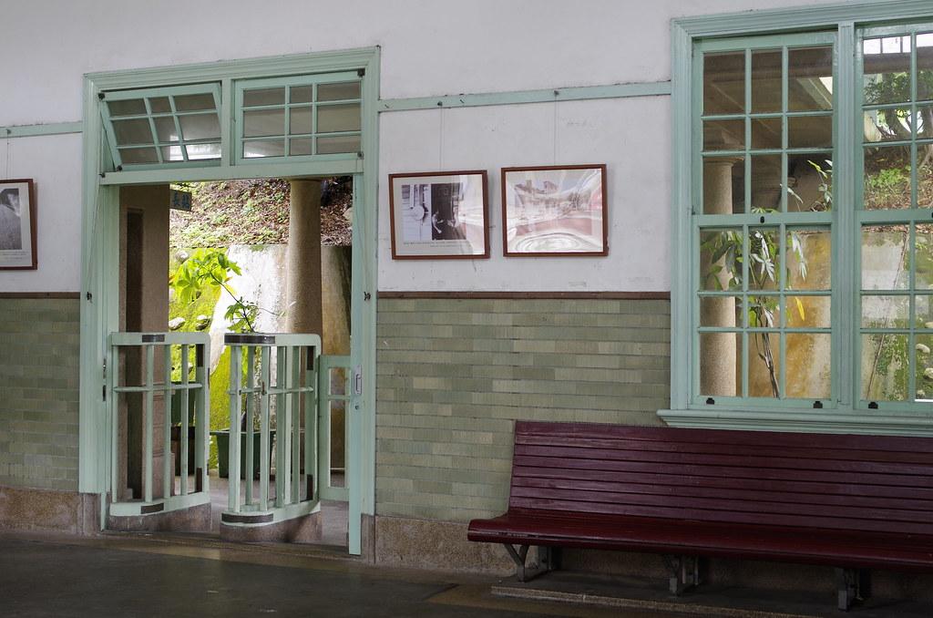 陰雨的舊泰安車站