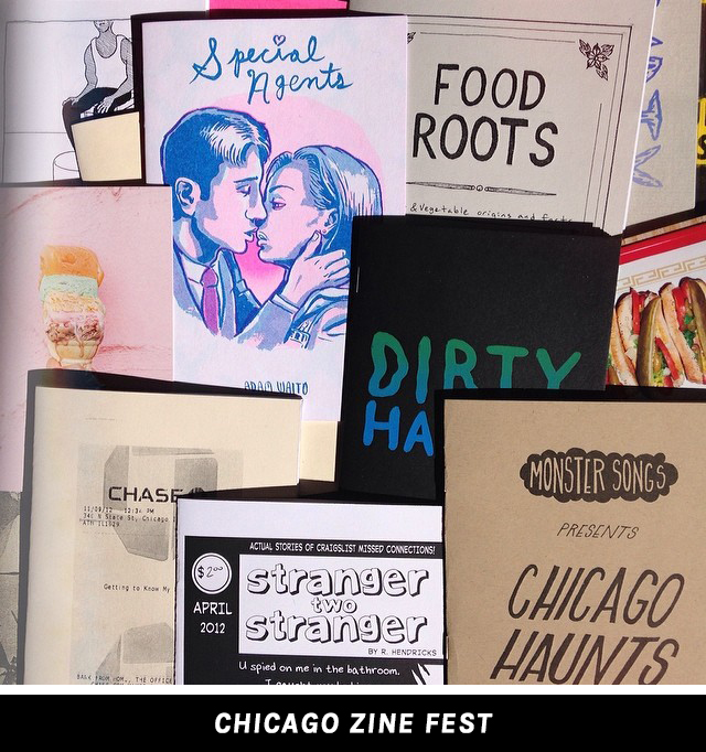 Chicago Zinefest 2014 Haul