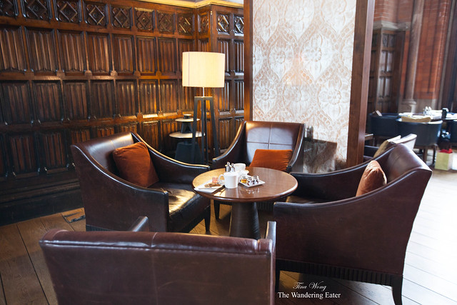 Lounge seating at The Booking Office