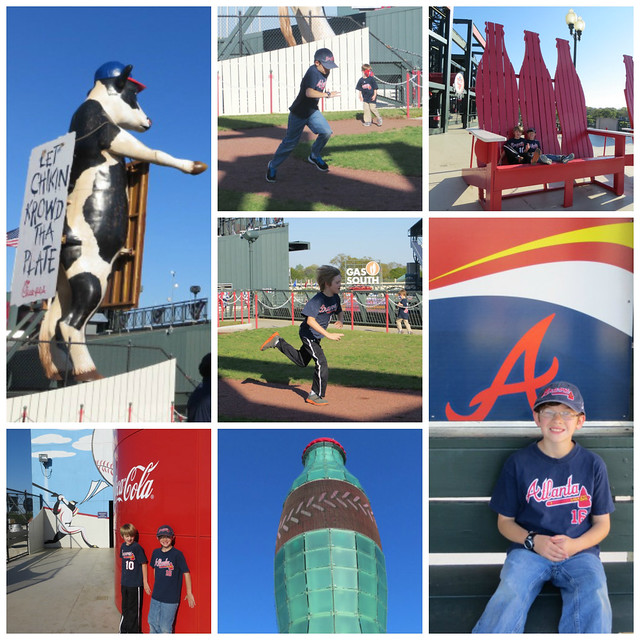 Braves Game Collage