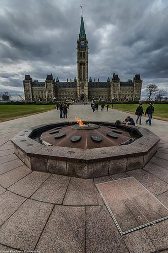 Parliament hill, Ottawa, CA