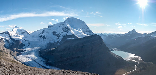 Mt. Robson and the Robson Glacier: 2011