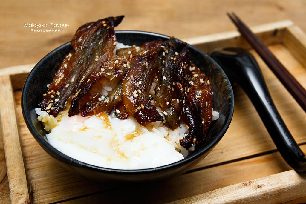 Midsummer Night Cafe shishamo egg rice