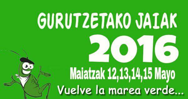 Gurutzetako Jaiak 2016