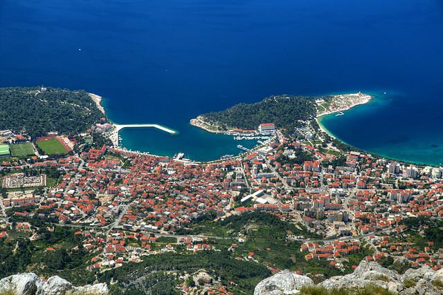 Makarska from Above