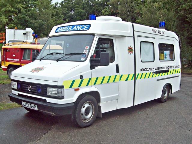 146 Talbot Express Ambulance (1st Gen) (1993)