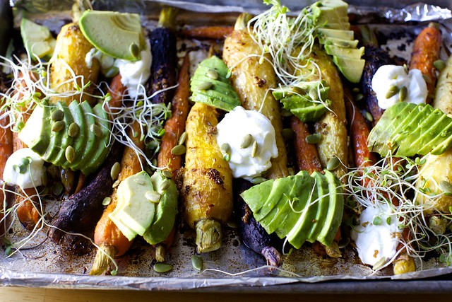 Roasted Carrots With Avocado And Yogurt Smitten Kitchen