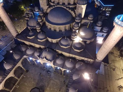 Yeni Cami a levegőből