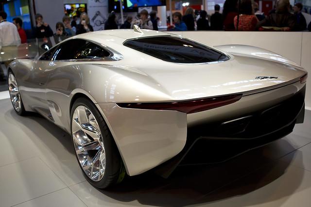 Jaguar Concept Car At Big Bang Fair 2012 Flickr Photo