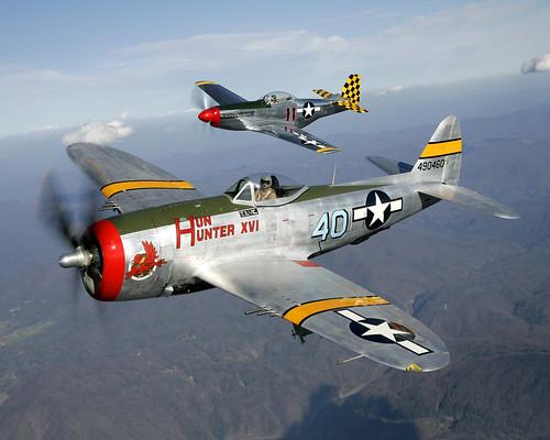 aviation mustang warbirds 1000views thunderbolt p51 p47 onethousandviews