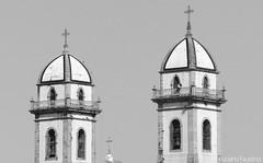 Torres da basílica de Iguape (SP)