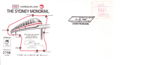 Mono 1st day cover