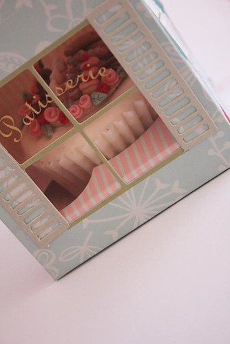 Buttercream Bakery Miniature Patisserie Cupcake in Gift Box