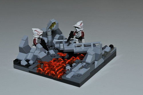 Scouting on Mustafar