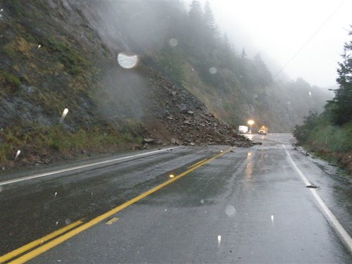 March 30 slide on U.S. 101