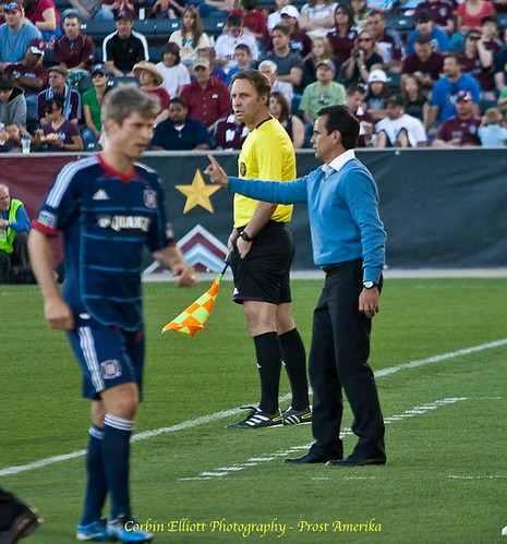 Oscar Pareja Colorado Rapids 1 Apr 2012 by Corbin Elliott Photography
