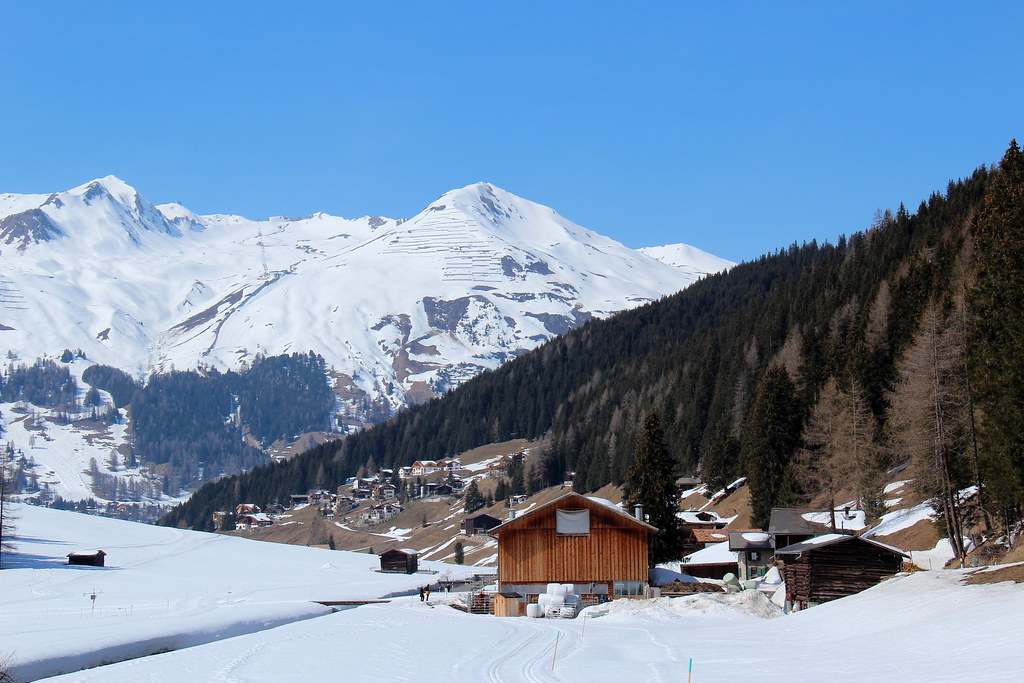 Davos in the Alps