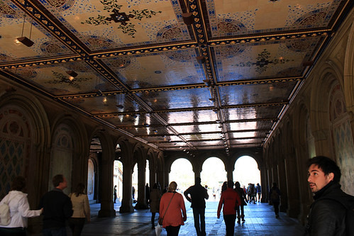 On Location Tours - Bethesda Terrace