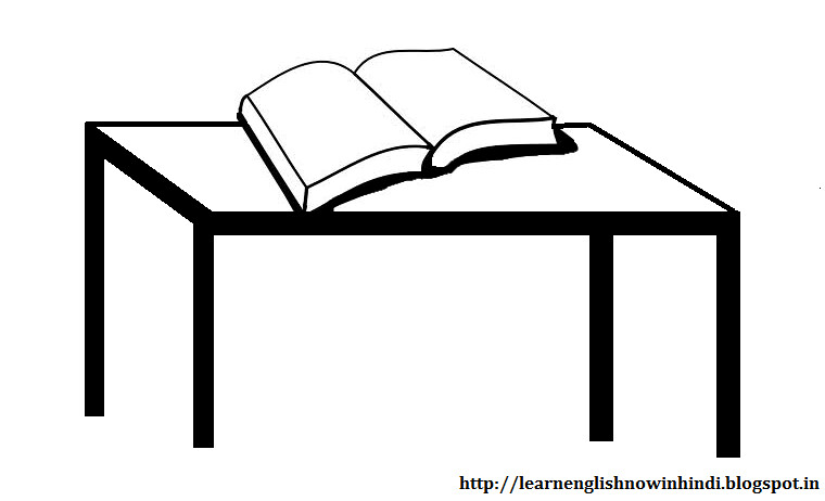 Table The Book Is On The Tablepreposition On Phpdotnethtml