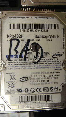Data Recovery MP0402H