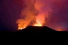 Mt. Nyamuragira Volcano