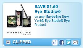 Maybelline New York Eye Studio Coupon