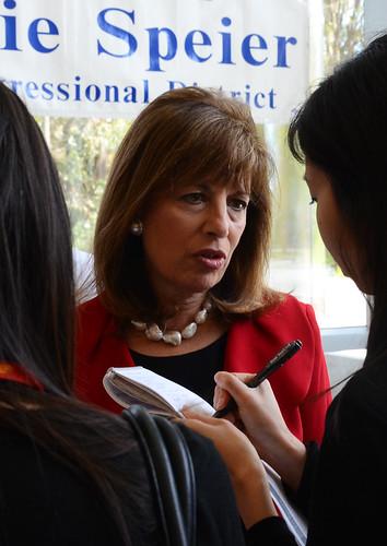 Congresswoman Speier