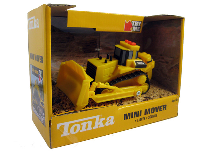 Tonka Caterpillar Mini Mover BULLDOZER with Light & Sound ...