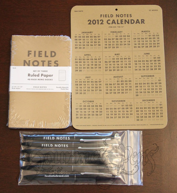 Field Notes Parcel