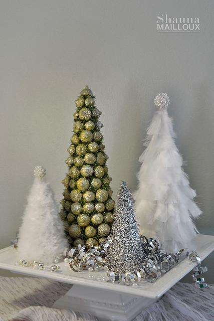 Handmade Christmas Trees Pt 1 Beautiful Matters