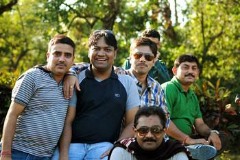 Subherjit, Myself, Sujay, Ashish & Joy