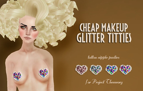 cheap makeup glitter titties