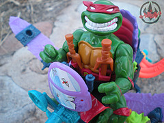"""MEGA MUTANTS"" TEENAGE MUTANT NINJA TURTLES :: NEEDLENOSE xxiv (( 1990 ))"