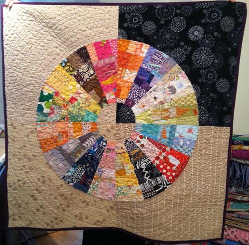 wheel quilt DONE