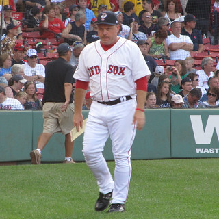 Arnie Beyeler At Fenway