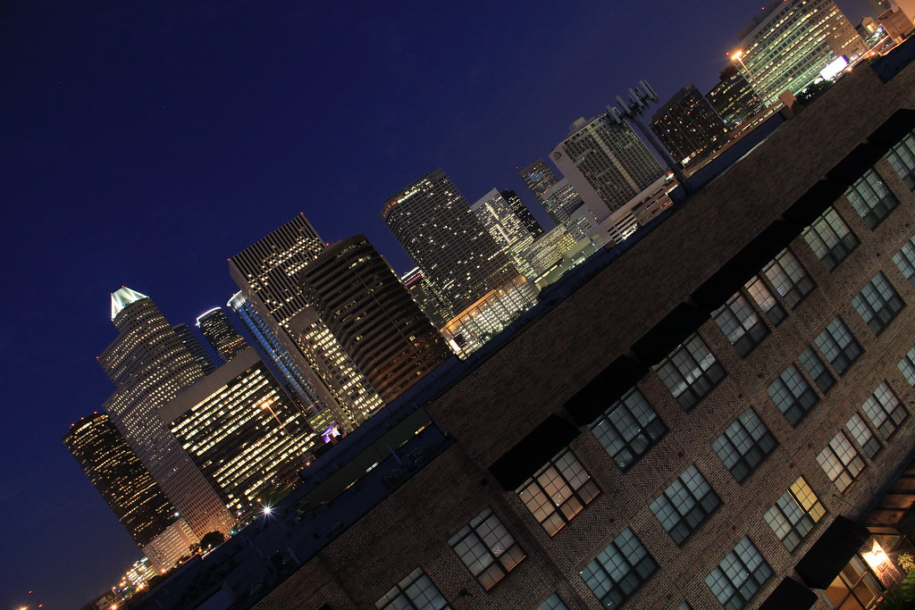 Downtown Houston from Midtown