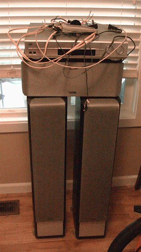 LG LSB316 Sound Bar Replaces All This Crap
