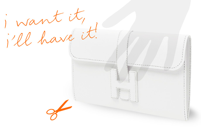 hermes paper clutch bag DIY