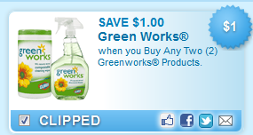 $1.00 Off Two Greenworks Products Coupon