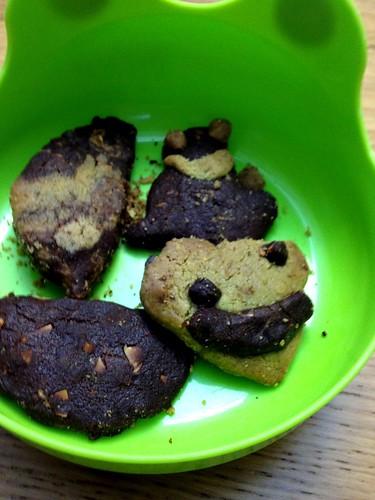 承霖在義美做的餅乾