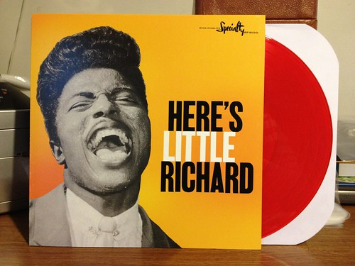 Little Richard - Here's Little Richard LP - Red Vinyl by Tim PopKid