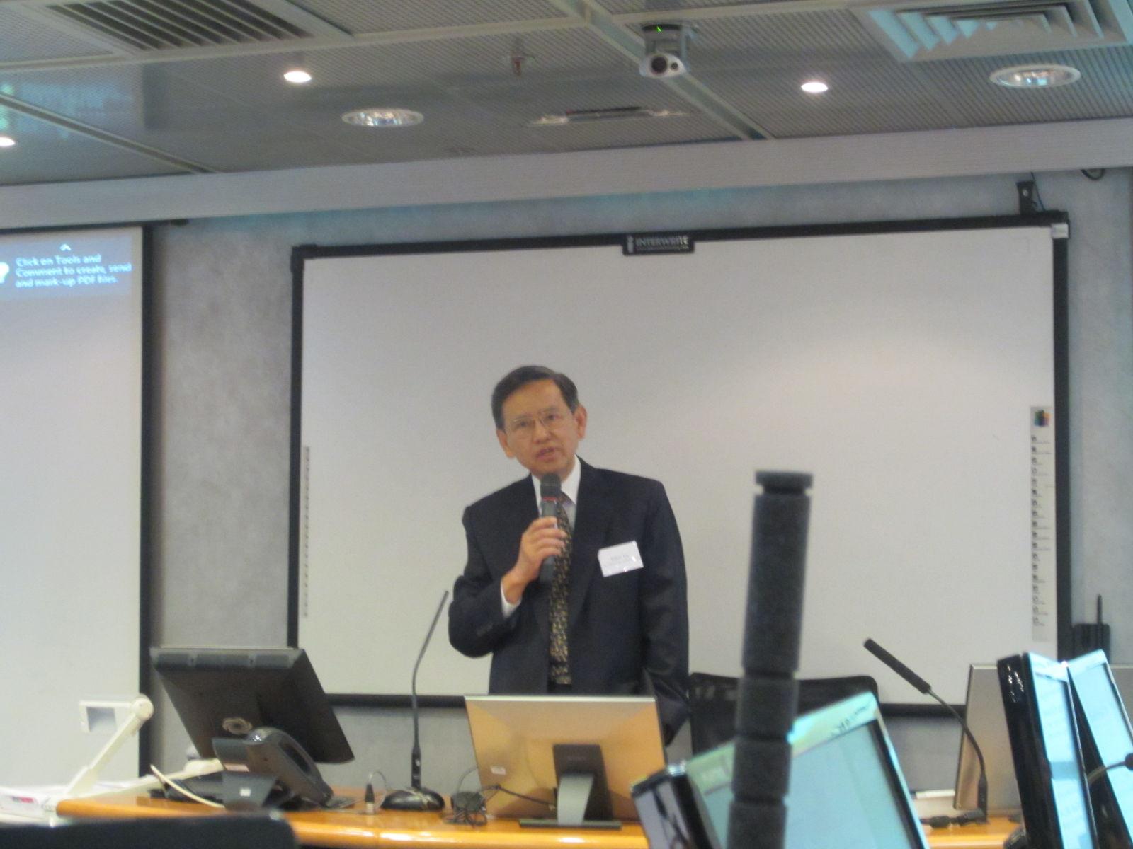 Prof Eden Yu