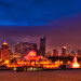 Buckingham Fountain and CPD Skyline